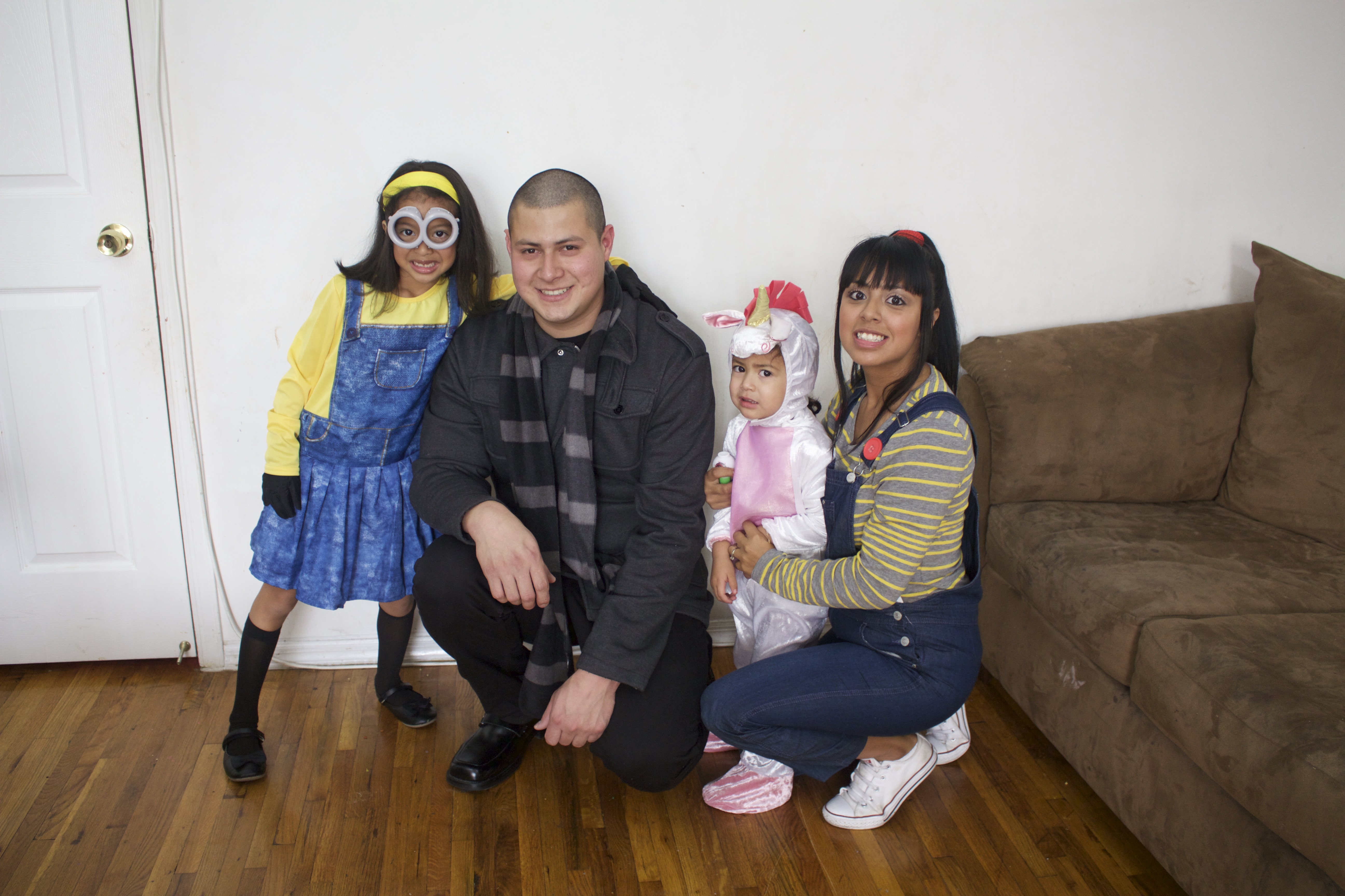 Despicable Me Family Costume Reveal