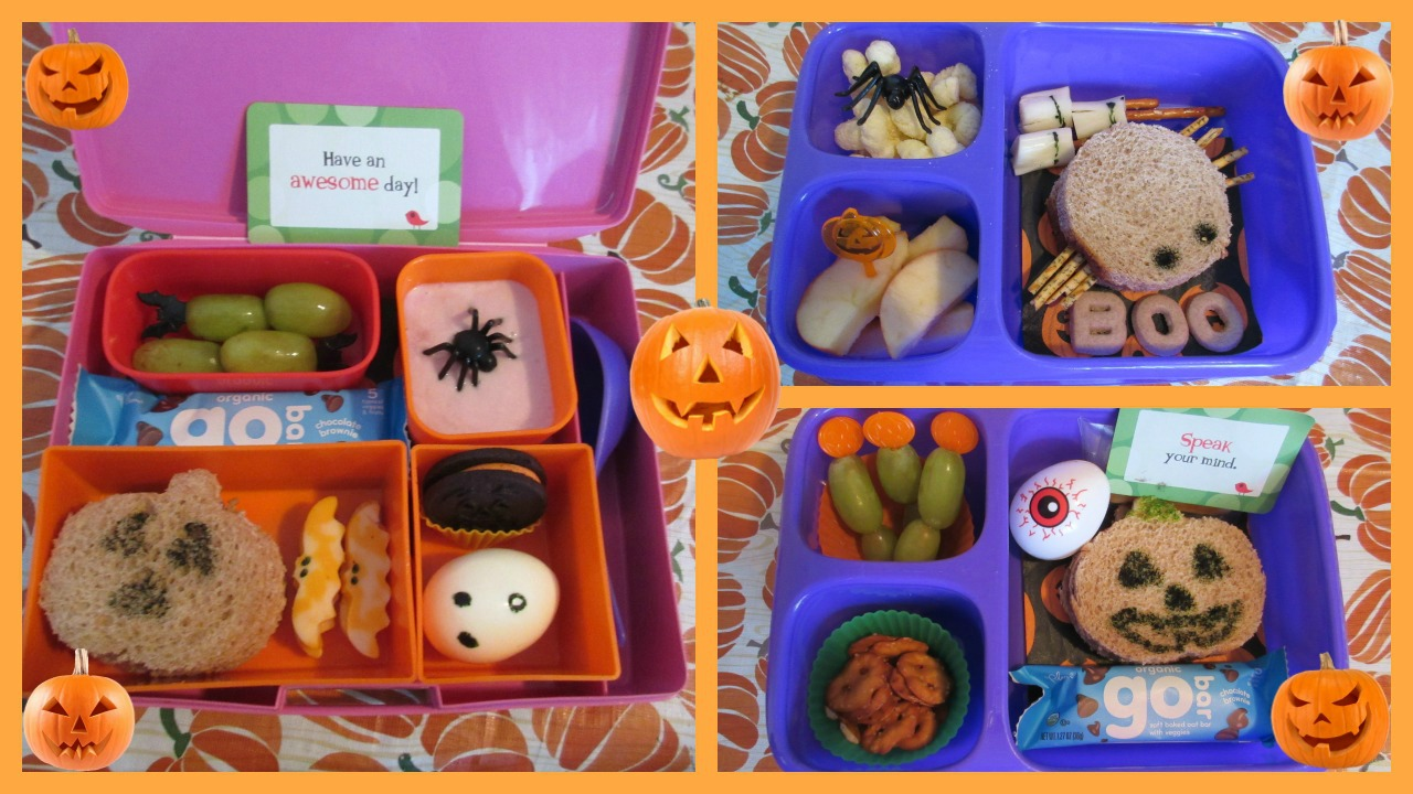 Halloween Bento Lunches!
