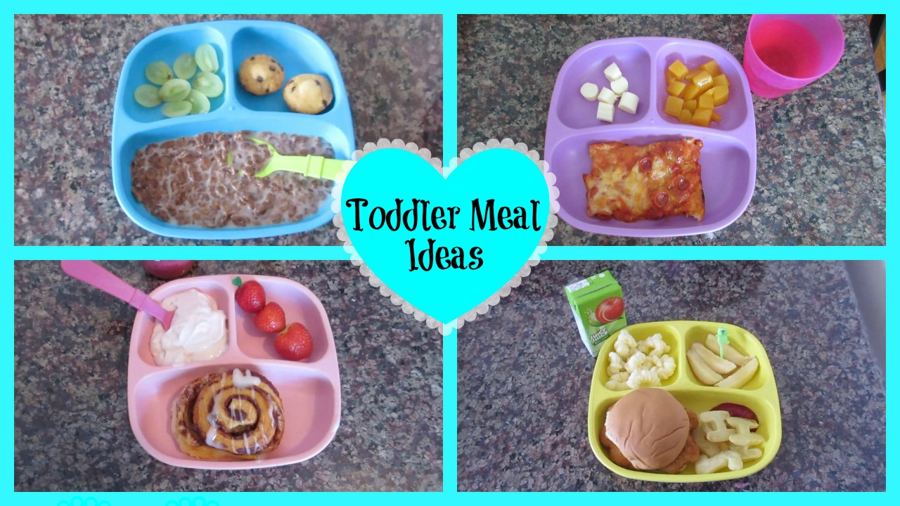 Toddler Meal Ideas!