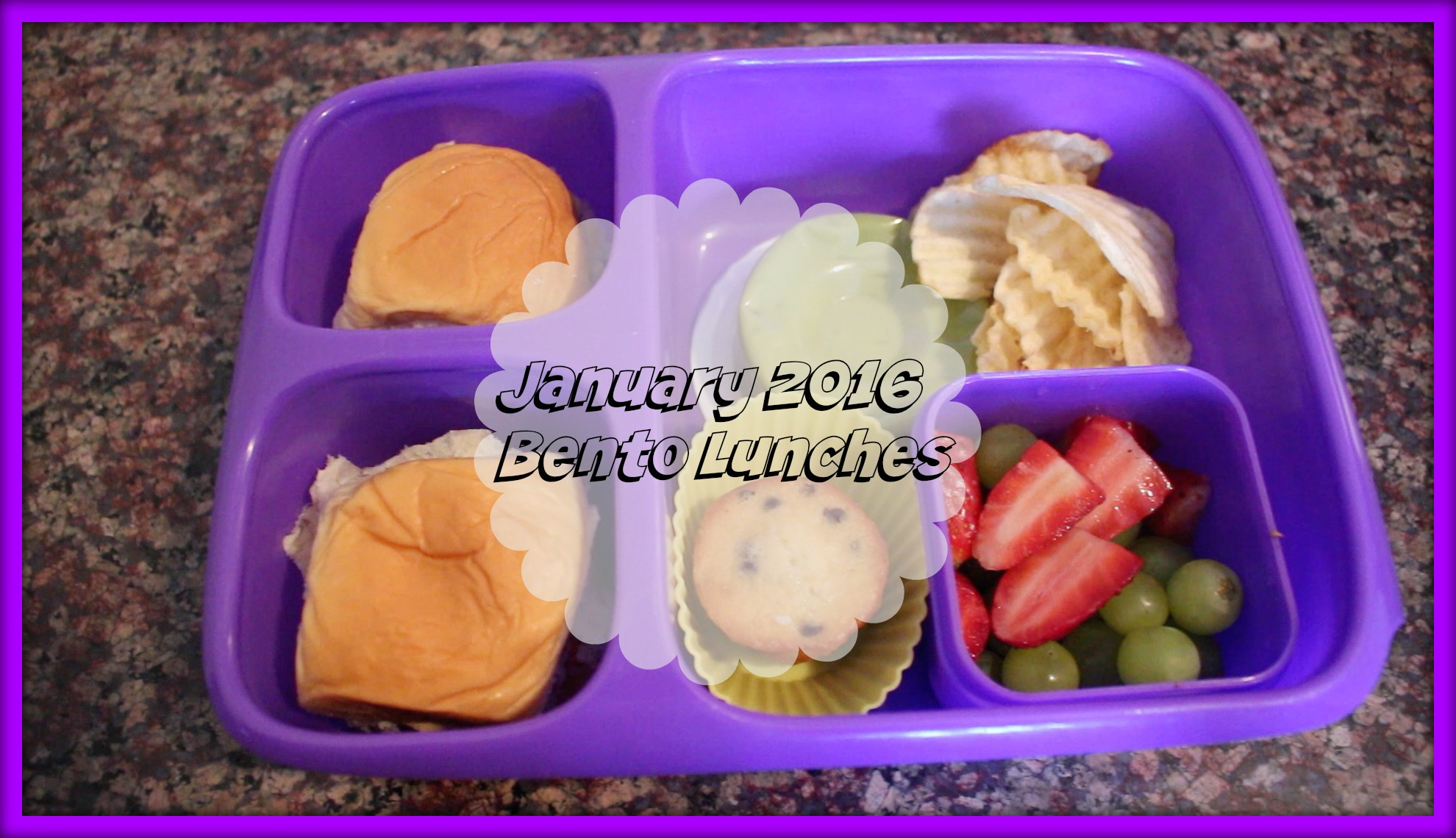Bento School Lunchboxes||January