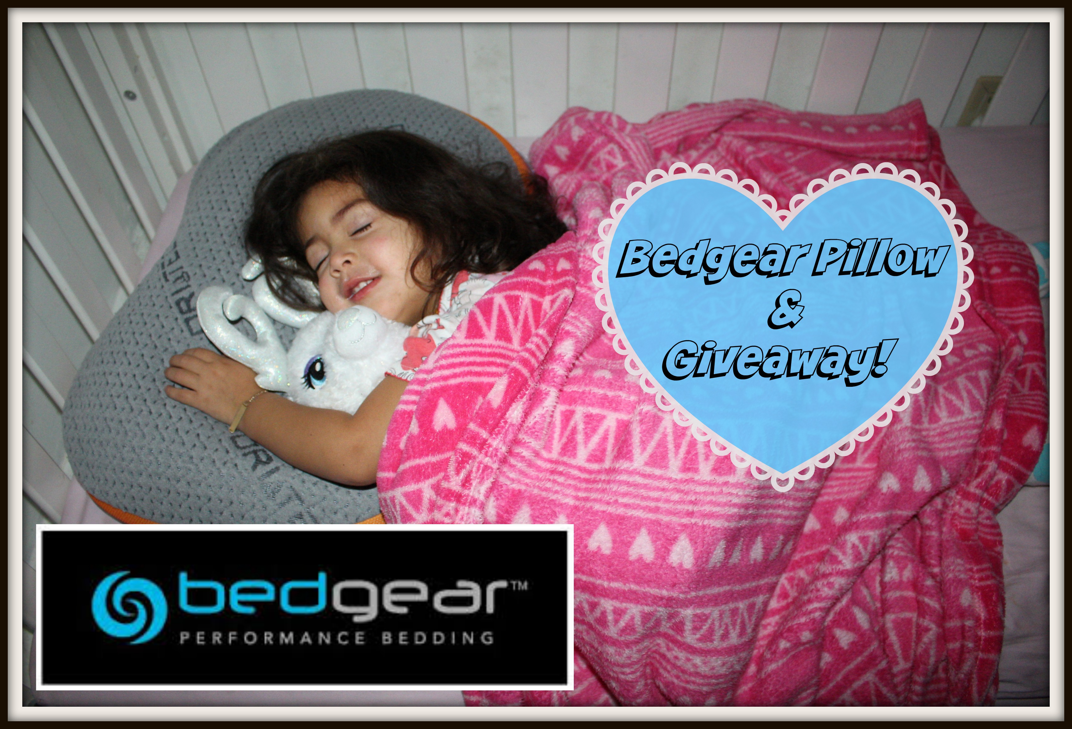 Toddler Pillow Transition & BedGear Giveaway
