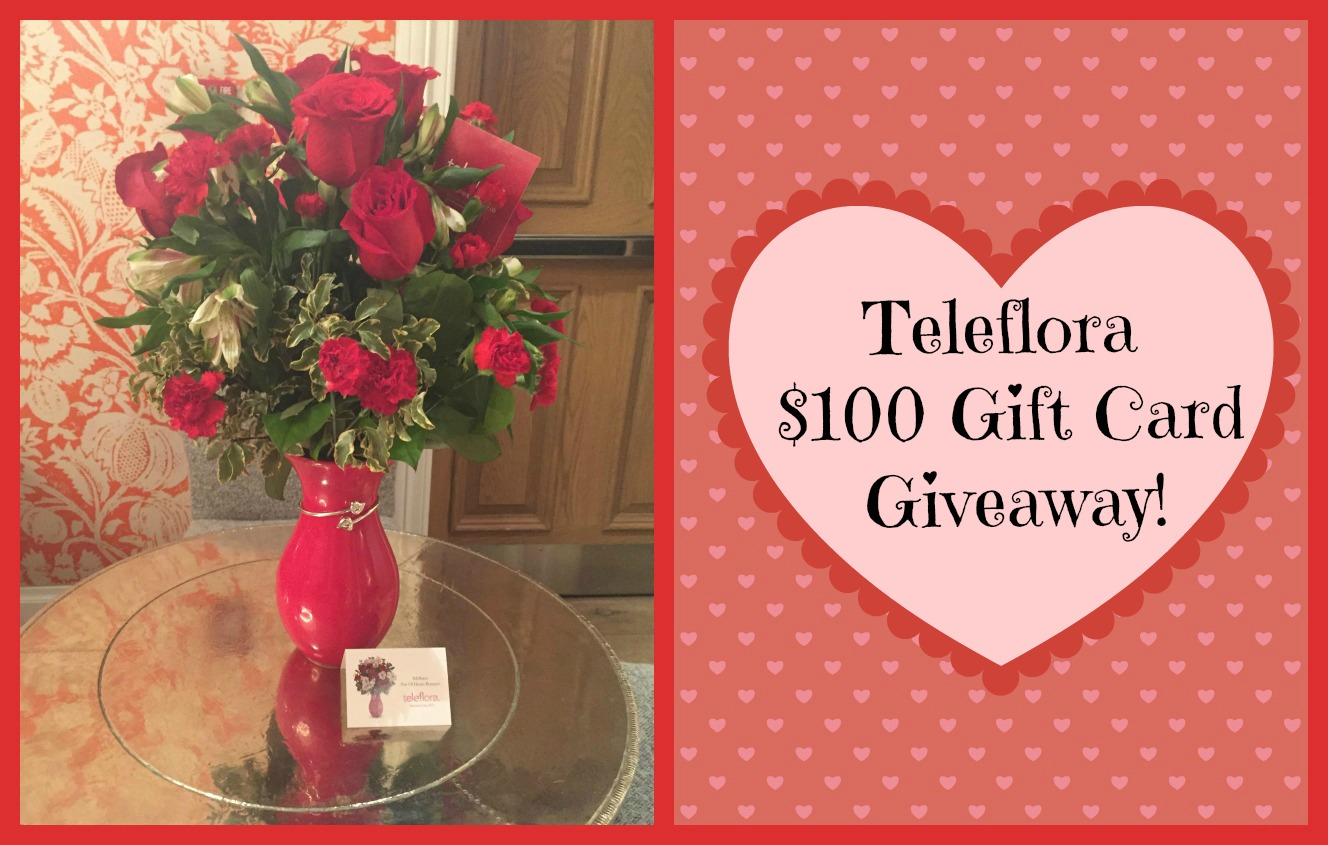 Valentine's Day with @Teleflora & $100 Gift Card Giveaway