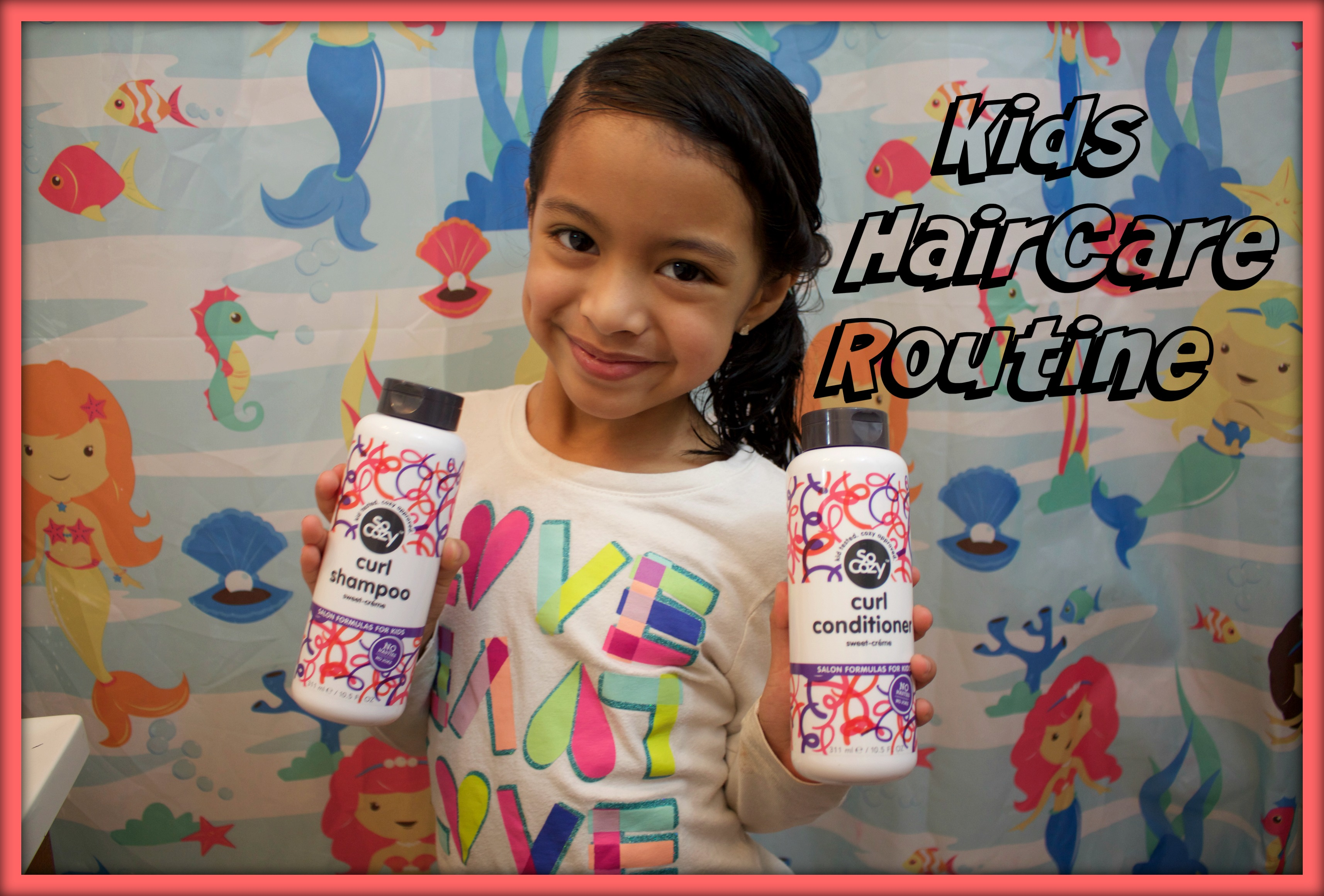 Kids HairCare Routine FEAT SO COZY!