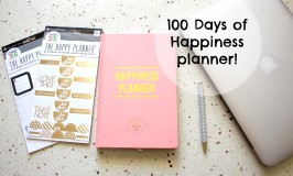 100 Days Of Happiness Planner