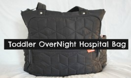 Packing A Toddler OverNight Hospital Bag!