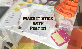 Make It Stick With Post It Brand!