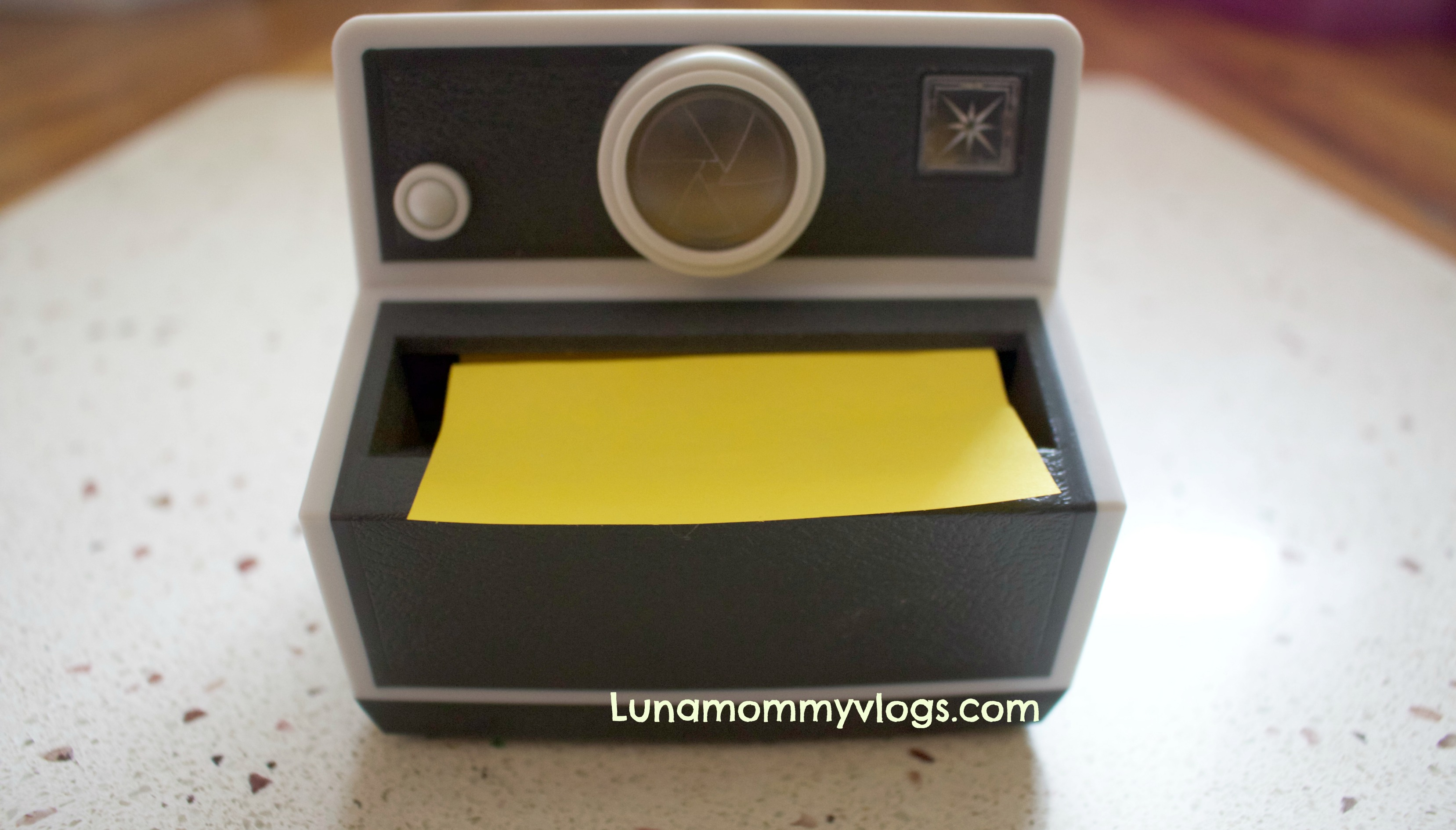 Post it Pop Up Camera