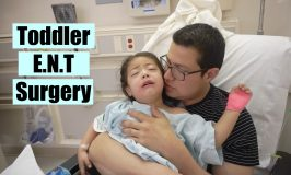 Toddler Surgery Day:Tonsils,Adneoids, & Eartubes