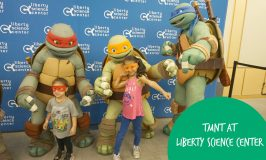 Teenage Mutant Ninja Turtle Exhibit at the Liberty Science Center