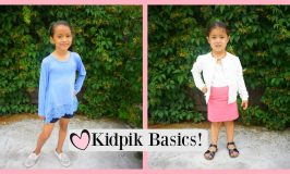 New KidPik Basics for Girls!