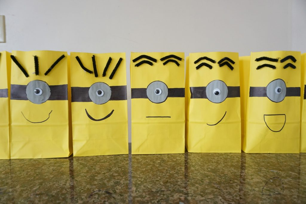 minion party goody bags
