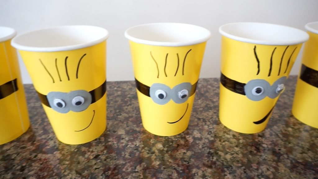 minion cup party