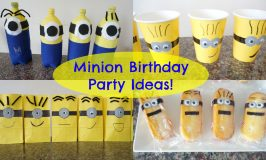 Minion Birthday Party Ideas!