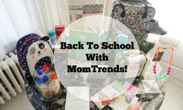 Back To School With Momtrends