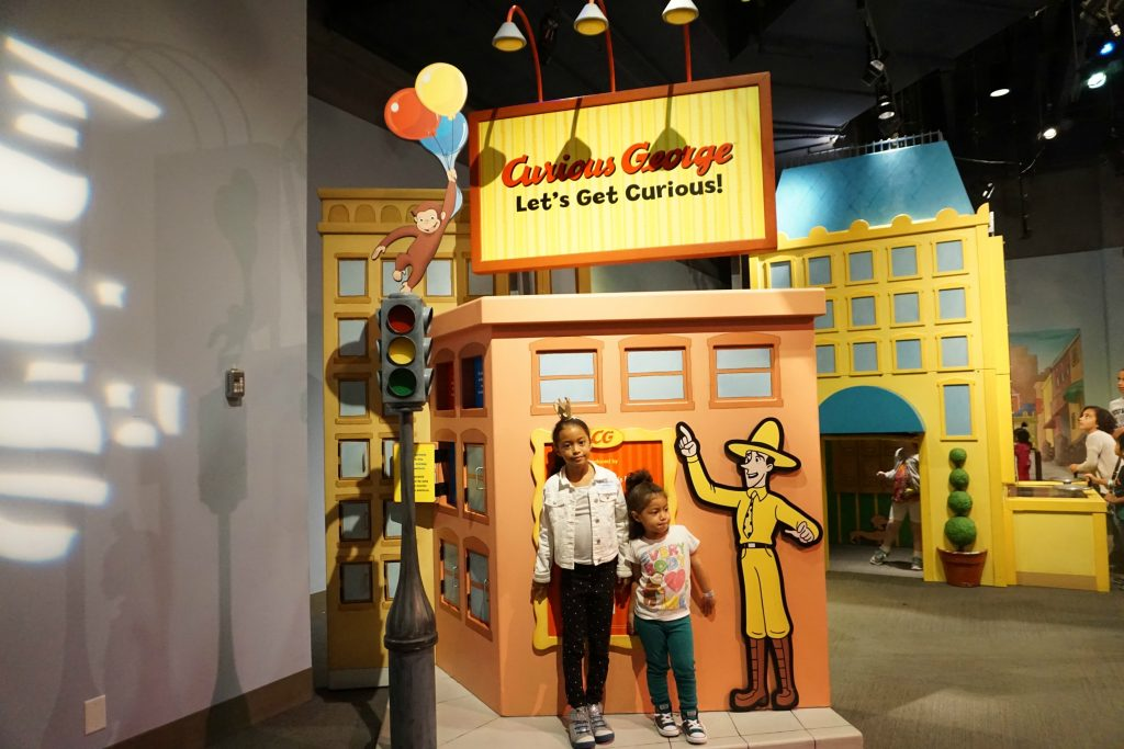 liberty science center curious george