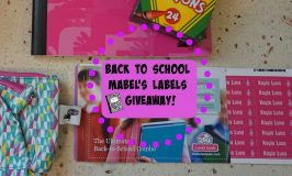 Mabel's Labels for Back to School