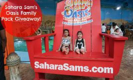 Sahara Sam's Oasis Waterpark & Family 4 Pack Giveaway!
