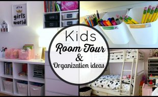 room tour toy organization